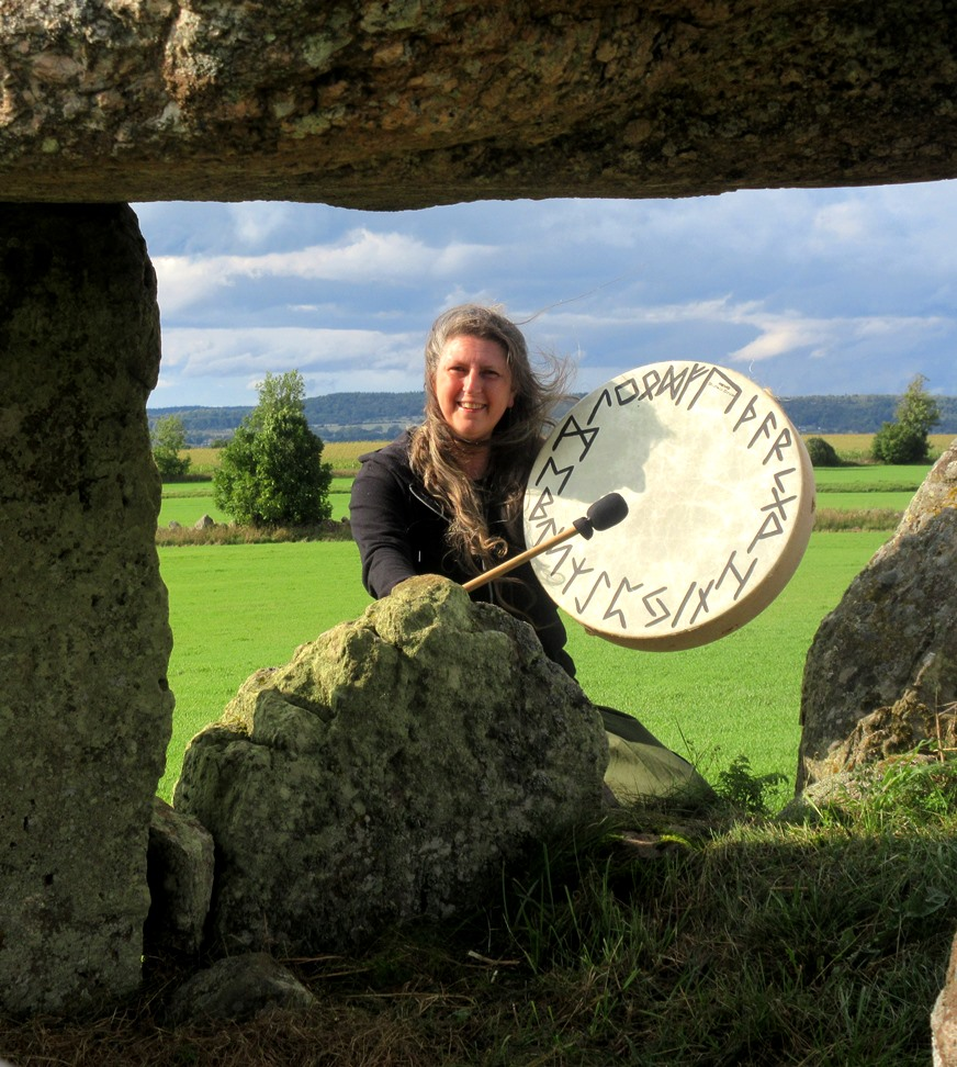 Shamanic healer Imelda Almqvist explains about soul retrieval and